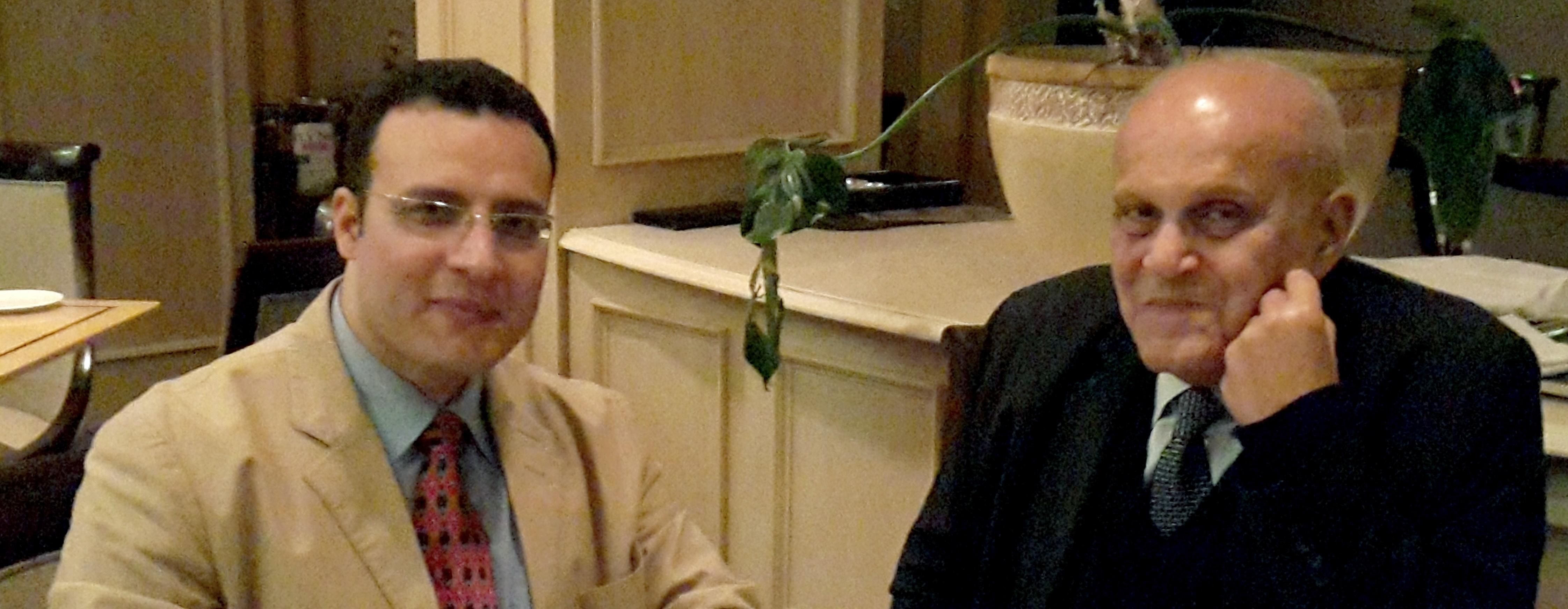 Sir Magdi Yacoub and Dr. Ibrahim El-Sherbiny